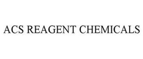 ACS REAGENT CHEMICALS