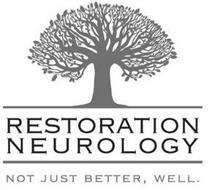 RESTORATION NEUROLOGY NOT JUST BETTER, WELL.