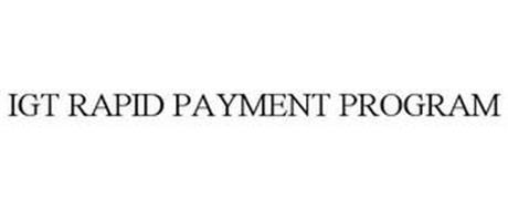 IGT RAPID PAYMENT PROGRAM