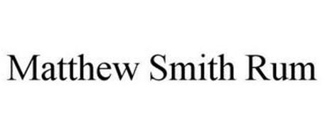 MATTHEW SMITH RUM