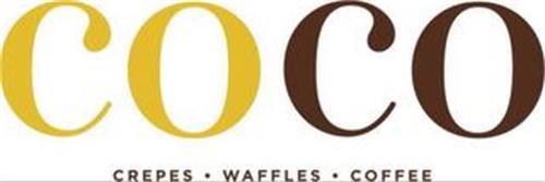 COCO CREPES · WAFFLES · COFFEE