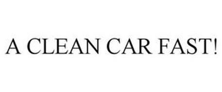 A CLEAN CAR FAST!