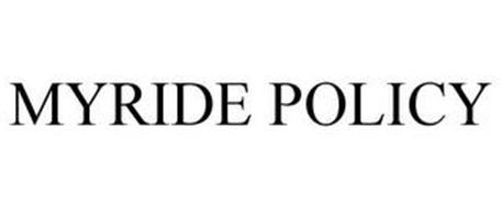 MYRIDE POLICY