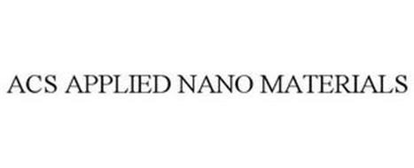 ACS APPLIED NANO MATERIALS
