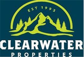 CLEARWATER PROPERTIES EST 1993