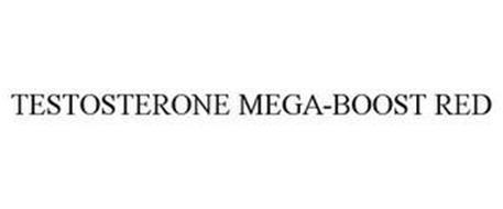 TESTOSTERONE MEGA-BOOST RED