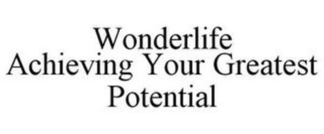WONDERLIFE ACHIEVING YOUR GREATEST POTENTIAL