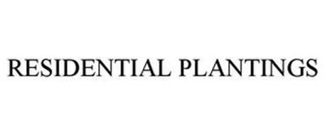 RESIDENTIAL PLANTINGS