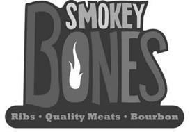 SMOKEY BONES RIBS · QUALITY MEATS  · BOURBON