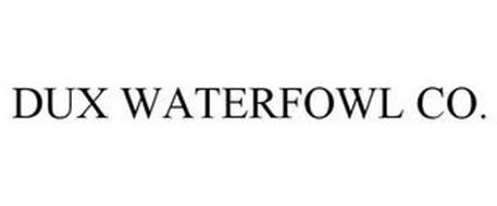 DUX WATERFOWL CO.