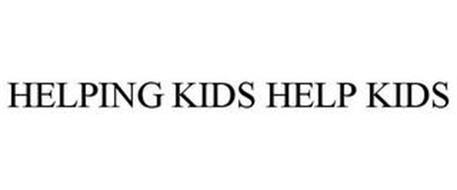 HELPING KIDS HELP KIDS
