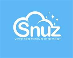 SNUZ COMFORT SLEEP MEMORY FOAM TECHNOLOGY