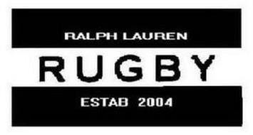 RALPH LAUREN RUGBY ESTAB 2004
