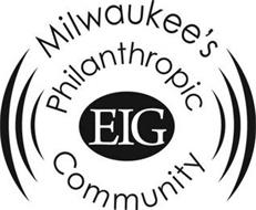 EIG MILWAUKEE'S PHILANTHROPIC COMMUNITY