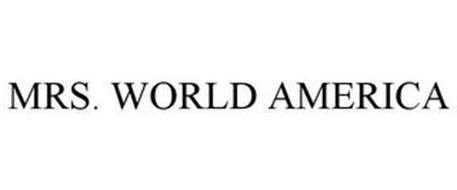 MRS. WORLD AMERICA