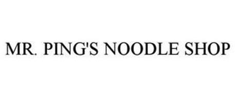 MR. PING'S NOODLE SHOP