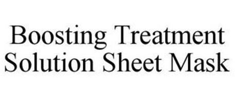 BOOSTING TREATMENT SOLUTION SHEET MASK