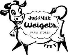 JUG O' MILK WEIGEL'S FARM STORES