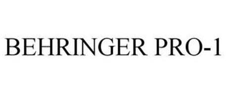 BEHRINGER PRO-1