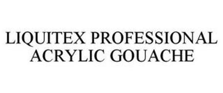 LIQUITEX PROFESSIONAL ACRYLIC GOUACHE