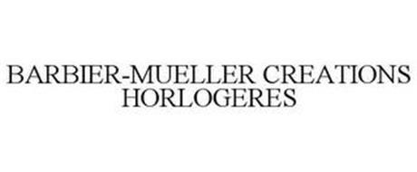 BARBIER-MUELLER CREATIONS HORLOGERES