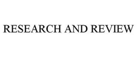 RESEARCH AND REVIEW