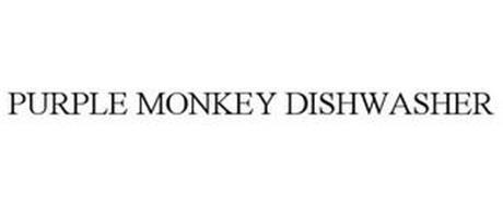 PURPLE MONKEY DISHWASHER