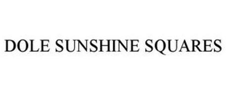 DOLE SUNSHINE SQUARES