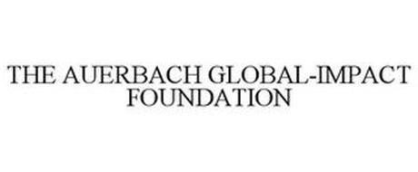 THE AUERBACH GLOBAL-IMPACT FOUNDATION