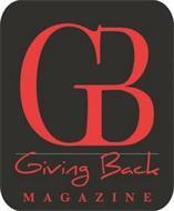 GB GIVING BACK MAGAZINE
