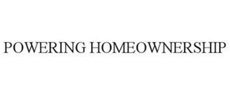 POWERING HOMEOWNERSHIP