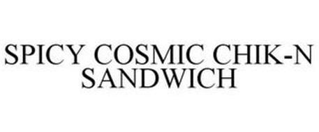 SPICY COSMIC CHIK-N SANDWICH