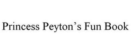 PRINCESS PEYTON'S FUN BOOK