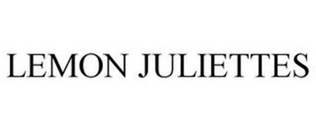 LEMON JULIETTES