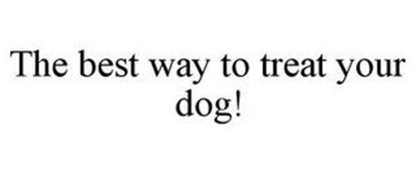 THE BEST WAY TO TREAT YOUR DOG!