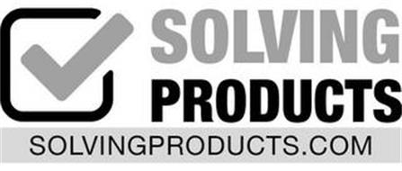 SOLVING PRODUCTS SOLVINGPRODUCTS.COM
