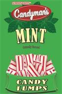 SUMTHIN' SWEET CANDYMAN'S MINT NATURALLY FLAVORED CANDY LUMPS