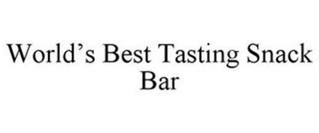WORLD'S BEST TASTING SNACK BAR