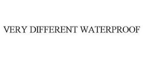 VERY DIFFERENT WATERPROOF