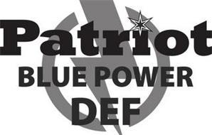 PATRIOT BLUE POWER DEF