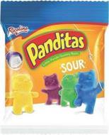 RICOLINO PANDITAS LITTLE PANDA GUMMY BEARS SOUR