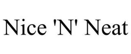 NICE 'N' NEAT