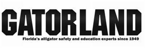 GATORLAND FLORIDA'S ALLIGATOR SAFETY AND EDUCATION EXPERTS SINCE 1949