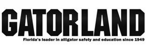 GATORLAND FLORIDA'S LEADER IN ALLIGATORSAFETY AND EDUCATION SINCE 1949