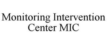 MONITORING INTERVENTION CENTER MIC