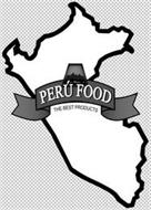 PERU FOOD THE BEST PRODUCTS