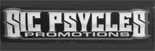 SIC PSYCLES PROMOTIONS