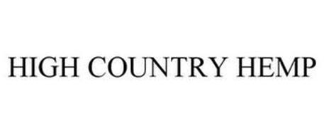 HIGH COUNTRY HEMP