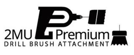 2MU PREMIUM DRILL BRUSH ATTACHMENT