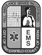 HALL AMBULANCE SERVICE INCORPORATED CITY OF BAKERSFIELD-COUNTY OF KERN EMS